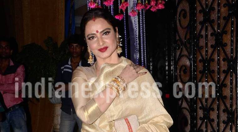 Actor Rekha To Donate Rs 3 Crore For Pcmc School Cities News The Indian Express