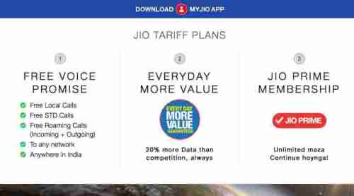 Reliance Jio 4G rates revised from today: Check out the full prepaid, post paid tariffs here