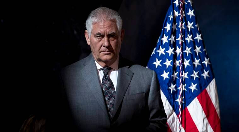 Rex Tillerson, rex tillerson, donald trump, rex tillerson india visit, rex tillerson speech, indo-pacific, india-us relations, Donald Trump, narendra Modi, us secretary of state, afghanistan, india, world news, indian express