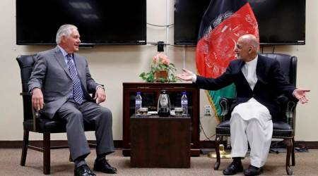 Rex Tillerson pays flying visit to Afghanistan to discuss US strategy