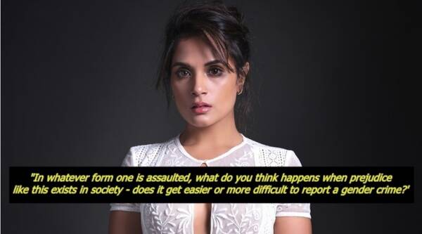 richa chadha, richa chadha blog, richa chadha metoo, richa chadha me too blog viral, richa chadha viral blog post, richa chadha facebook, richa chadha fb, richa chadha blog full post, indian express, indian express news