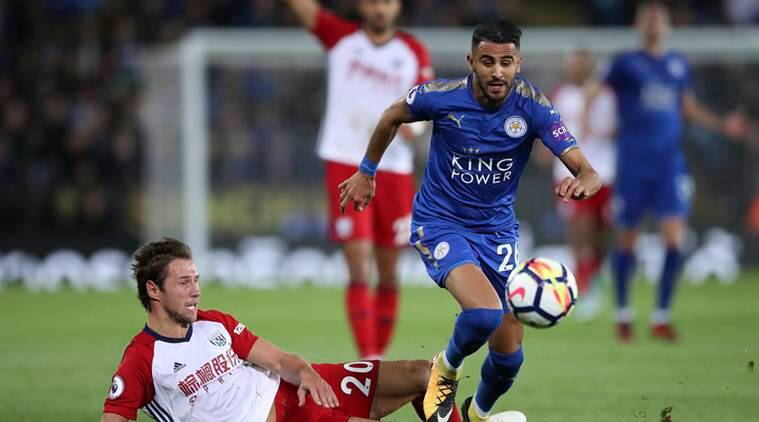 Riyad Mahrez rescues point for Leicester City in 1-1 draw with West Brom