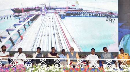 Narendra Modi in Gujarat: PM inaugurates 'south Asia's biggest' Ro-Ro ferry service