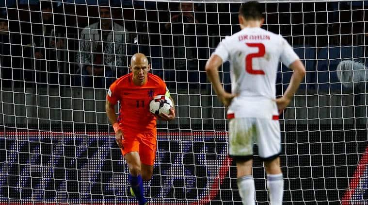 Netherlands vs Belarus, 2018 FIFA World Cup, Arjen Robben, Sweden