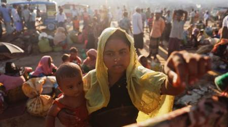 Rohingya, Rohingya sterilisation, Rohingya migrants, Rohingya exodus, Rohingya refugees, Bay of Bengal, Rohingya boat capsize, world news, indian express news