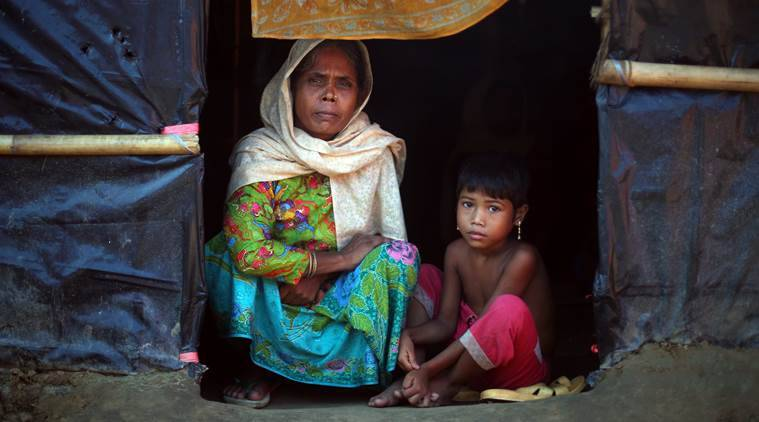 Rohingya people, Rohingya refugee crisis, Myanmar sanctions, Myanmar, Bangladesh, US sanctions against Myanmar, Aung San Suu Kyi, World news, Indian Express