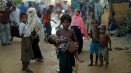 Rohingya Muslim refugees, rohingyas, supreme court, rohingya refugee, myanmar, rakhine state, indian govt, world news, india news, indian express