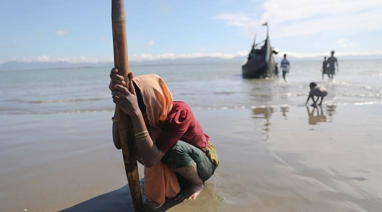 rohingya, rohingya muslims, rohingya crisis, rohingya refugees, myanmar, bangladesh, rakhine state, unhcr, united nations, rohingya problem solution, indian express