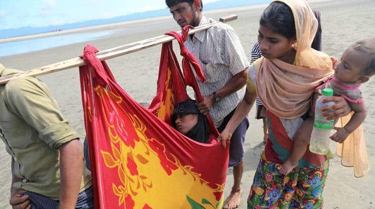 rohingya, rohingya muslims, rohingya crisis, rohingya refugees, myanmar, bangladesh, rakhine state, unhcr, united nations, rohingya problem solution, indian express