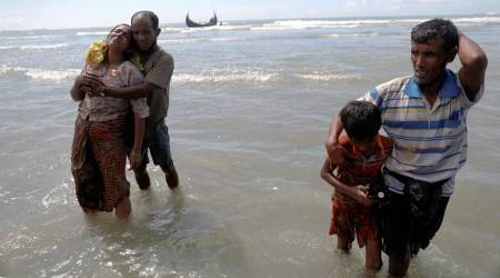 At least 14 dead as Rohingya refugee boat sinks off Bangladesh