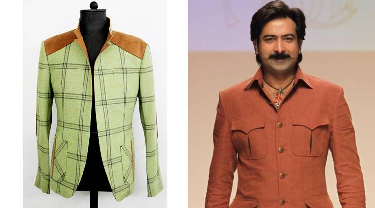 jackets, plaid coats, winter fashion, winter coats, bandhgala coats, indian express, indian express news