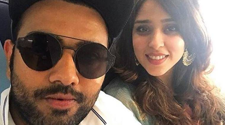 Rohit Sharma, Ritika Sajdeh, Karva Chauth, Rohit Sharma India, Indian cricket team, sports news, cricket, Indian Express