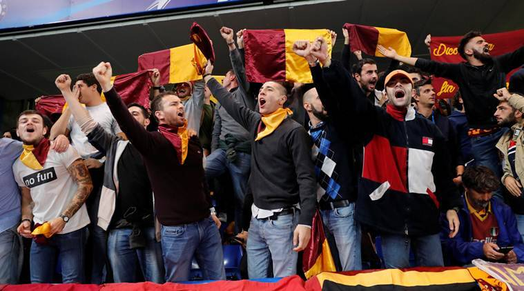 AS Roma, AS Roma disciplinary action, Champions League, UEFA, sports news, football, Indian Express