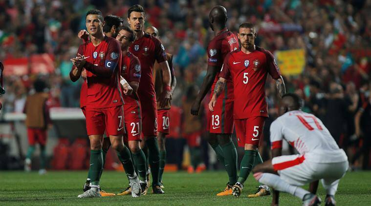 cristiano ronaldo, portugal, world cup qualifiers, russia 2018 qualifiers,