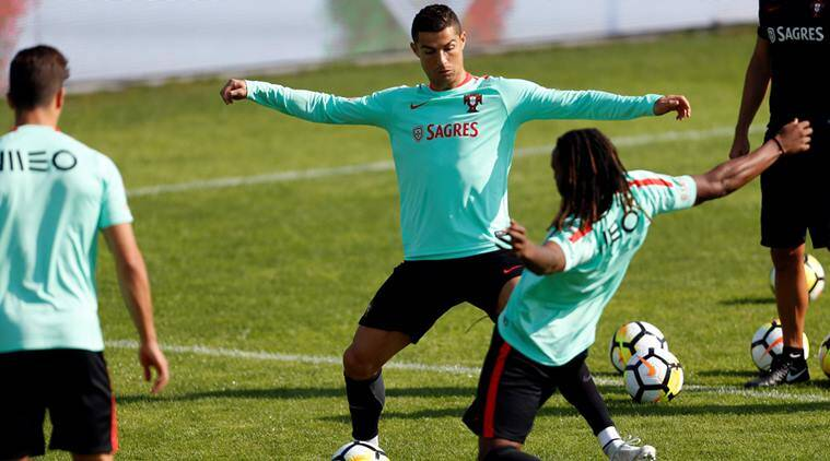 Cristiano Ronaldo, Portugal, Portugal vs Switzerland, World Cup qualifiers, World Cup 2018, Football news, Indian Express
