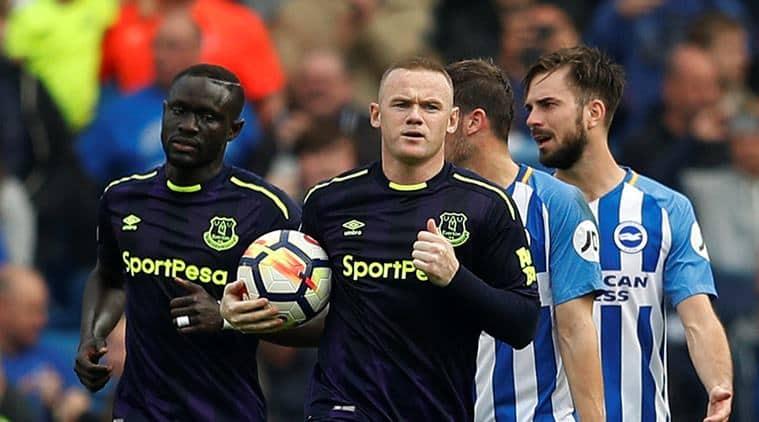 wayne rooney, everton, everton vs brighton, brighton, premier league,
