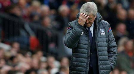 Crystal Palace like a beaten boxer, says Roy Hodgson