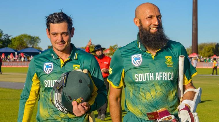 South Africa vs Bangladesh, SA vs BAN, Hashim Amla, Quinton de Kock, Amla de Kock partnership, SA vs Ban stats, Bangladesh tour of South Africa 2017, Cricket news, indian Express