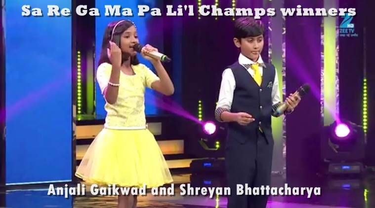 Sa Re Ga Ma Pa Li'l Champs 2017 announces two winners