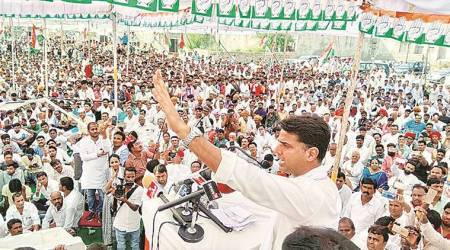 Rajasthan: In Vasundhara Raje's bastion, Sachin Pilot says govt delaying loan waiver
