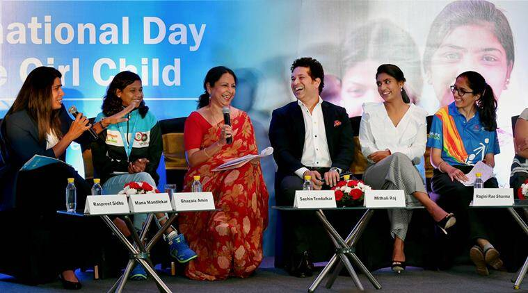Sachin Tendulkar, UNICEF Goodwill ambassador, Mithali Raj, Sports news, indian Express
