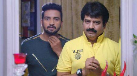 Sakka Podu Podu Raja trailer: Santhanam does some Rajinikanth-esque action