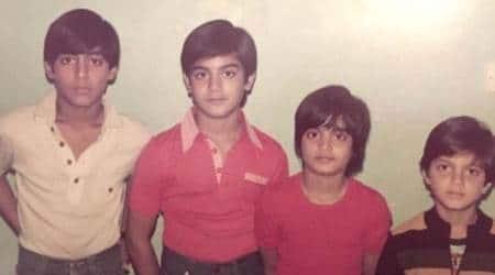 salman khan, arbaaz khan, salman siblings photo, salman throwback photo, salman