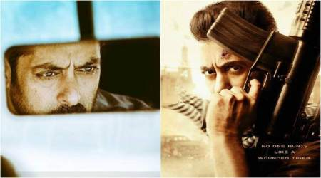Tiger Zinda Hai first poster: Salman Khan's intense gaze is setting the mood right for Christmas