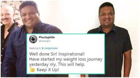 weight loss, weight loss by celebrities, sanjay gupta weight loss, healthy eating, ways to lose weight, indian express, indian express news