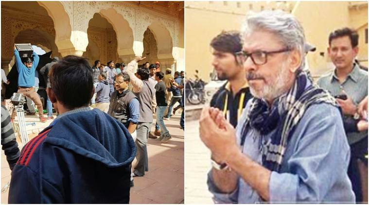 sanjay leela bhansali, padmavati sets jaipur, padmavati set destroyed, padmavati attacked