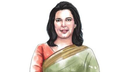 Saroj Pandey, often mild, sometimes aggressive against minister or CPM