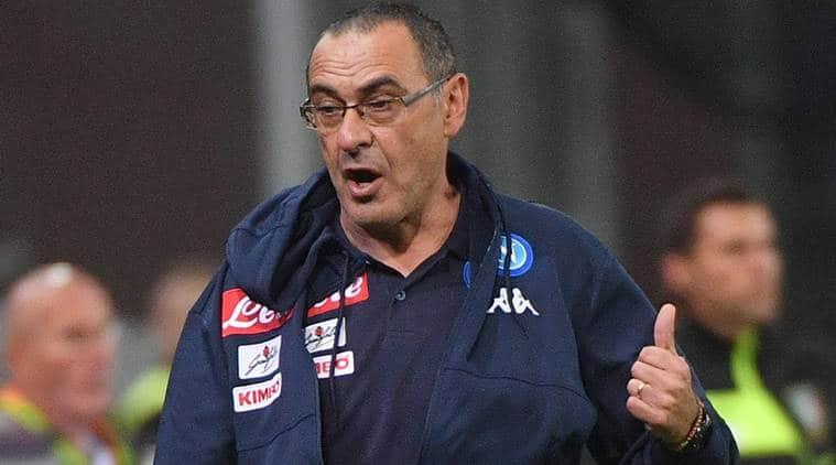 Maurizio Sarri, Napoli, Serie A, Manchester City