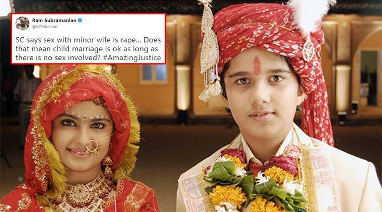Isnt Child Marriage Illegal Twitterati Wonder As Sc -7777