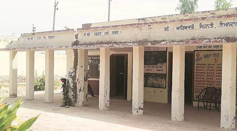 Punjab school merger, punjab primary school merger, Amarinder Singh, Amarinder Singh's village, punjab news, indian express news