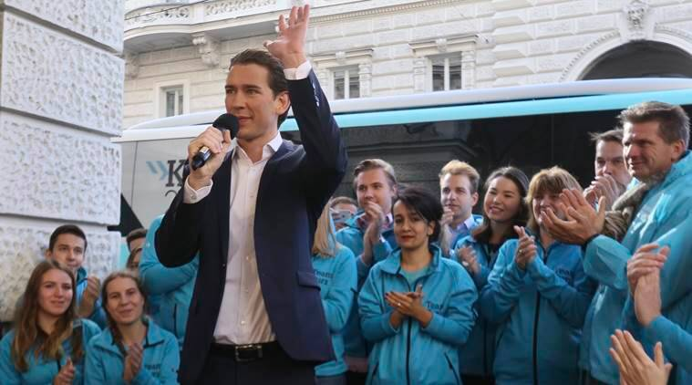 Austria elections, Austria, Sebastian Kurz, European Union, EU, EU leader, world news, indian express news