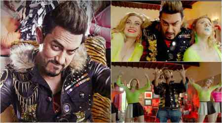 Watch Secret Superstar song Sexy Baliye: Aamir Khan's quirky avatar is a must-see