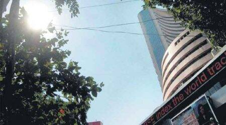 Sensex drops 57 points in early trade on weak global cues