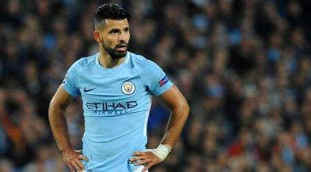 Manchester City's Sergio Aguero in contention for Stoke City clash