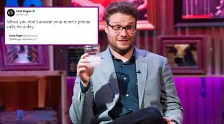 Hollywood stars CAN'T miss mom's calls too; Seth Rogen's 'worried' mom got Twittertalking