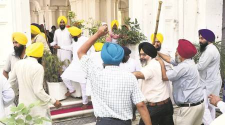 SGPC task force, aides of parallel Jathedars clash, three injured outside Golden temple