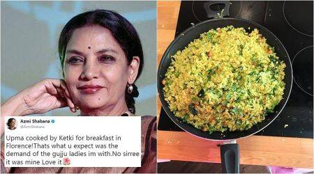 'It's Poha, not Upma': Shabana Azmi's tweet leaves Internet amused