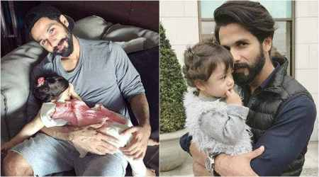 Photo of Misha sleeping in daddy Shahid Kapoor's lap will melt your heart