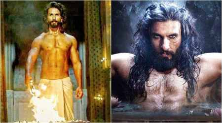 Padmavati: Move over Ranveer Singh, it's time for Shahid Kapoor's sculpted warrior look