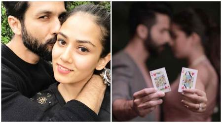 Photo: Shahid Kapoor is happy to admit that his 'queen' Mira Rajput rules his heart