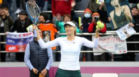 Maria Sharapova storms past Peng Shuai into Tianjin Open final