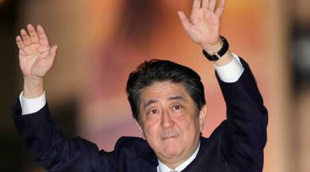 Shinzo Abe says US, Japan, S.Korea cooperation on N.Korea is firm