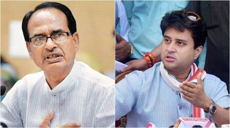 Get down from chopper to know real condition of roads, Jyotiraditya Scindia tells Shivraj Singh Chouhan