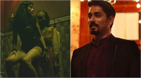 Aval, Aval movie review, Aval review, review Aval, siddharth, andrea jeremiah, aval rating, aval movie, siddharth aval, aval horror film, gruham, the house next door, siddharth news