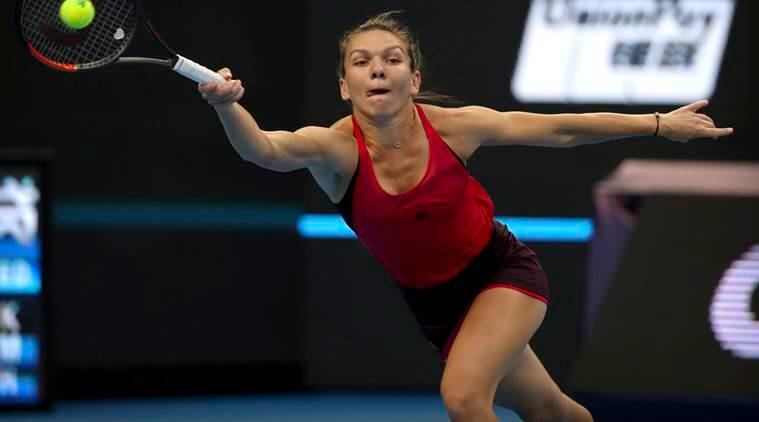 Simona Halep, Maria Sharapova, China Open, sports news, tennis, Indian Express