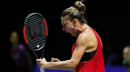 WTA Finals: Simona Halep too strong for Caroline Garcia in opener